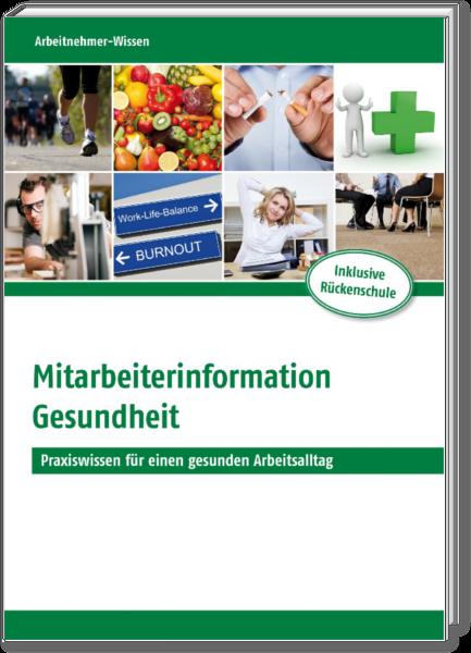 Mitarbeiterinformation Gesundheit