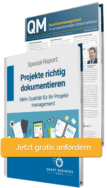 Qualitätsmanagement im produzierenden Unternehmen - Projekte richtig dokumentieren