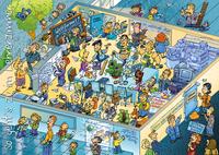 Das Lehrerzimmer-Wimmelbild